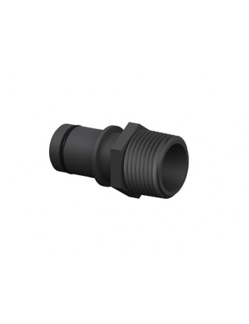 19mm Qwik-Lok X 19mm Male NPT Adapter - For Flowrite Control Valves