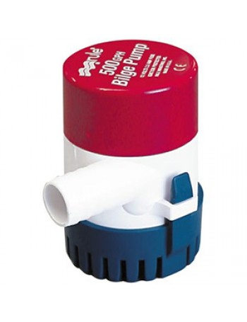 Rule 500 GPH Bilge Pump Model 25D with 3/4