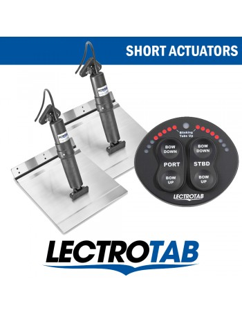 LECTROTAB KITS ALLOY PLATE & OVAL CONTROL UNIT - SHORT ACTUATORS