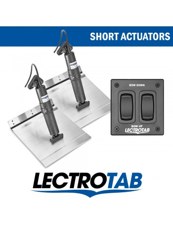 LECTROTAB KITS ALLOY PLATE - Short Actuator