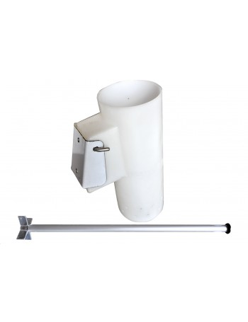 Berley Bucket with Staninless Steel Mount and Aluminum Muncher