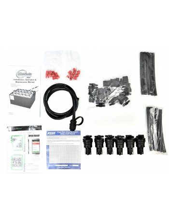 MILLENNIUM 35P (PUSH IN) KITS BLACK