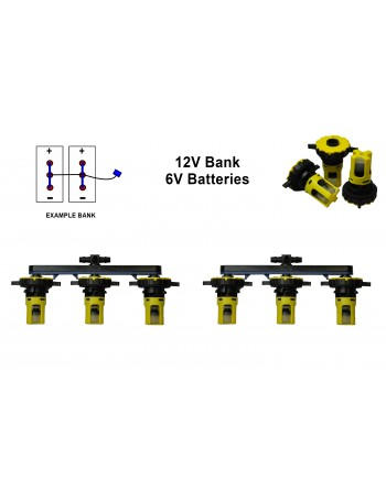 6v Battery Watering Kit - 12v Banks  2.7