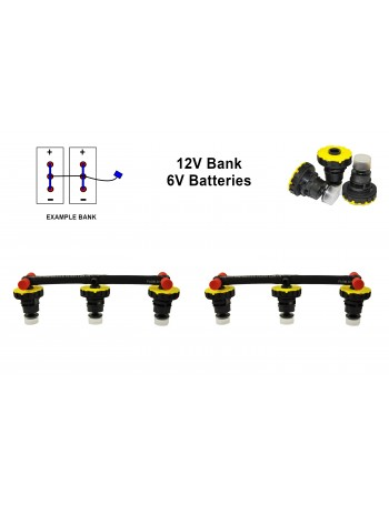 6v Battery Watering Kit - 12v Banks  2.6