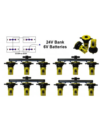 6v Battery Watering Kit - 24v Banks 2.7