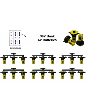 6v Battery Watering Kit - 36v Banks 2.7