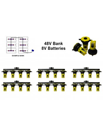 8v Battery Watering Kit - 48v Banks 2.3