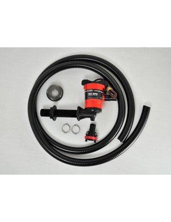 Johnson Aerator Pump Kit 750GPH Angled