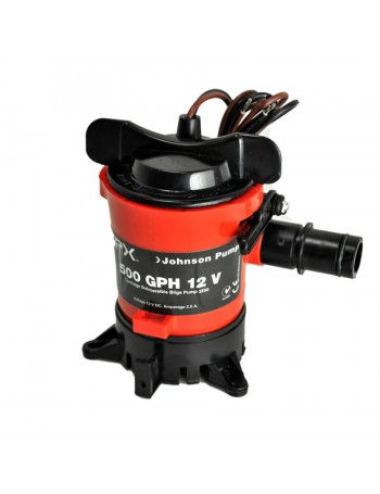 JOHNSON BILGE PUMP 12 VOLT COMPLETE - CARTRIDGE STYLE