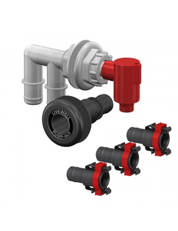 PUMP OUT AERATOR COMBO KIT WITH QWIK-LOK FITTINGS