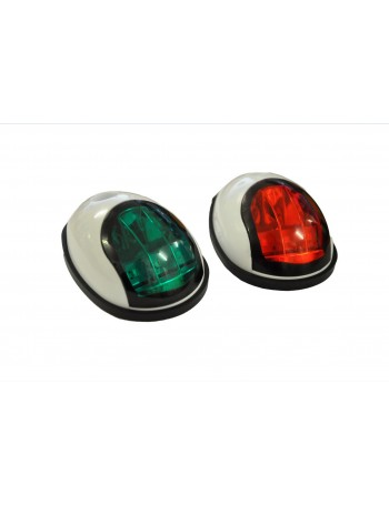 LED NAV LIGHTS - WHT HOUSING IP68 RATED