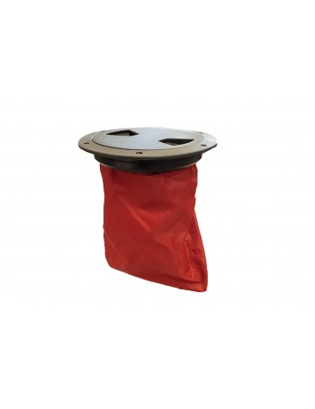 Kayak Inspection Port with Storage Bag