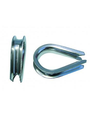 STAINLESS STEEL THIMBLE PAIRS