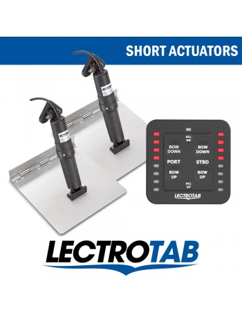 LECTROTAB KITS STAINLESS STEEL & ONE TOUCH CONTROL - SHORT ACTUATORS