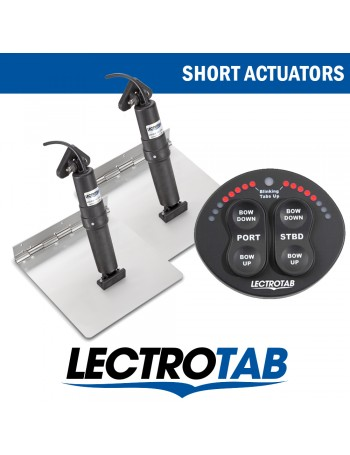 LECTROTAB KITS STAINLESS STEEL PLATE & OVAL CONTROL UNIT - SHORT ACTUATORS