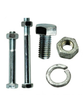 """BOLT & HEX NUT HEAVY DUTY 3/8"""" BSW X 5"""""""
