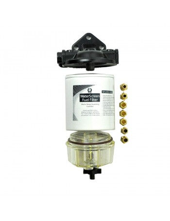 Element  water screen fuel filter assembly - OMC- MERCURY and HONDA  CARTRIDGES