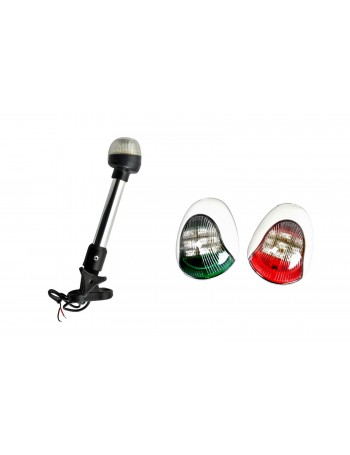 VIGIL NAVIGATION LIGHT KITS - White